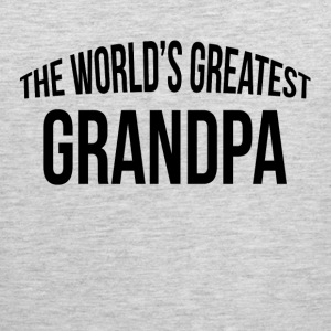 THE WORLD'S GREATEST GRANDPA Sportswear - Men's Premium Tank