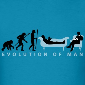 evolution_therapist_psychologist_11_2016 T-Shirts - Men's T-Shirt