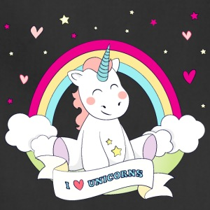 I Love Unicorns Aprons - Adjustable Apron