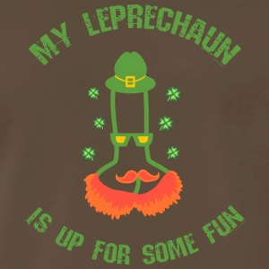 Your Leprechaun wants some fun - Men's Premium T-Shirt