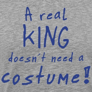 a real king costume T-Shirts - Men's Premium T-Shirt