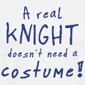 a real knight costume T-Shirts - Men's Premium T-Shirt