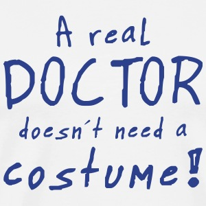 a real doctor costume T-Shirts - Men's Premium T-Shirt