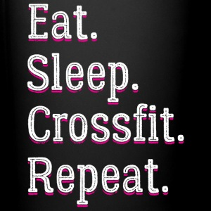 Eat Sleep Crossfit Repeat - Full Color Mug