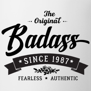 Badass since 1987 - Coffee/Tea Mug