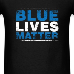 COP - Blue lives matter - Men's T-Shirt