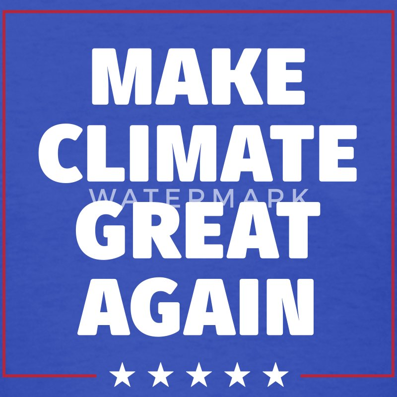 MAKE CLIMATE GREAT AGAIN T-Shirts - Women's T-Shirt