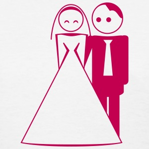couple / wedding / mariage / bride and groom 1c T-Shirts - Women's T-Shirt