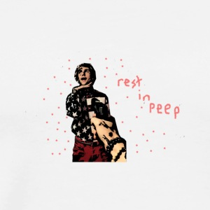 rest in peep - Men's Premium T-Shirt