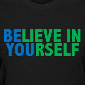 Be You - Blue & Green T-Shirts - Women's T-Shirt