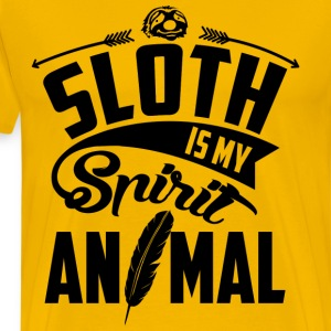 Sloth Is My Spirit Animal T-Shirts - Men's Premium T-Shirt