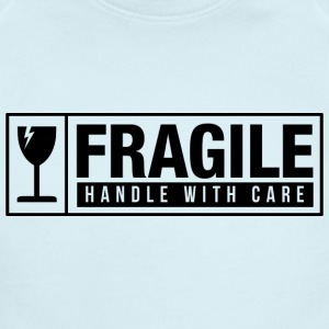 Fragile Handle With Care Baby Bodysuits - Short Sleeve Baby Bodysuit