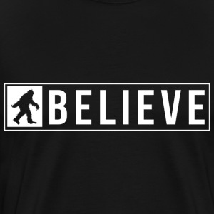 Sassquatch Believe T-Shirts - Men's Premium T-Shirt