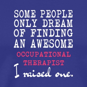 Awesome Occupational Therapist T Shirt - Men's Premium T-Shirt