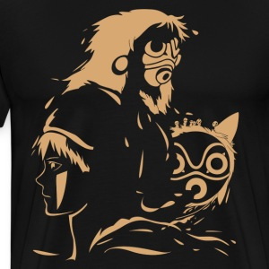 Princess and Her Mask - Men's Premium T-Shirt