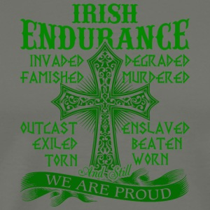 Irish Endurance We Are Proud T Shirt - Men's Premium T-Shirt