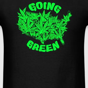 Going Green - Men's T-Shirt