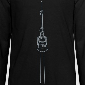 Danube Tower Vienna Kids' Shirts - Kids' Premium Long Sleeve T-Shirt