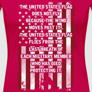 USA Flag T-Shirts - Women's Premium T-Shirt
