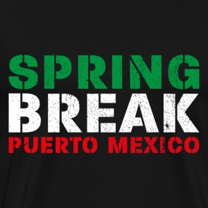 spring break puerto T-Shirts - Men's Premium T-Shirt