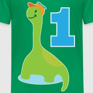 1st Birthday Dinosaur Baby & Toddler Shirts - Toddler Premium T-Shirt