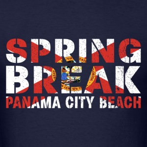 sprin break Panama City T-Shirts - Men's T-Shirt