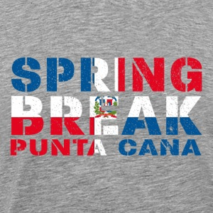 sprin break Punta Cana T-Shirts - Men's Premium T-Shirt
