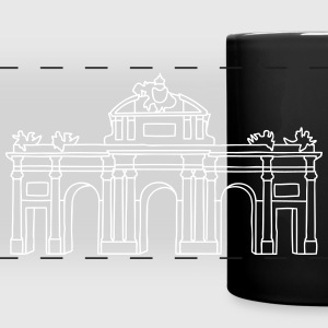 Puerta de Alcalá Madrid Mugs & Drinkware - Full Color Panoramic Mug
