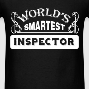 Inspector - World's smartest inspector - Men's T-Shirt