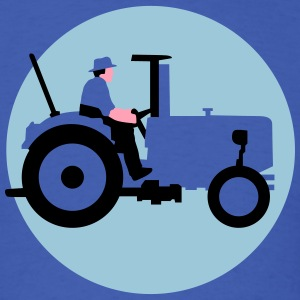 farmer_with_tractor_b_09_2016_3c01 T-Shirts - Men's T-Shirt