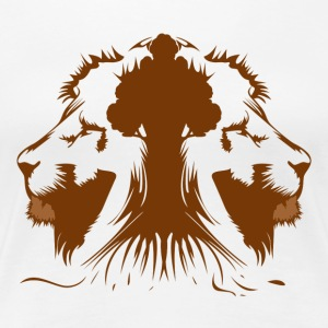 Rawr, Tiger Tree - Women's Premium T-Shirt