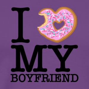Donut & Boyfriend Love - Men's Premium T-Shirt