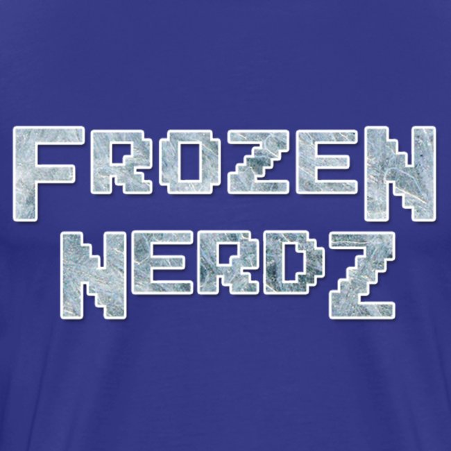 8 Bit Frozen Nerdz Logo (Men's)