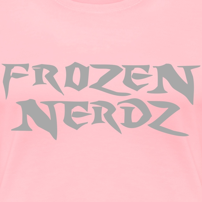 Glittery Frozen Nerdz Logo T-Shirt (Women's)