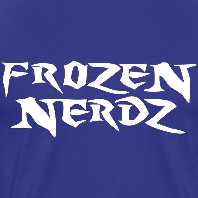 White Frozen Nerdz Logo T-Shirt (Men's)