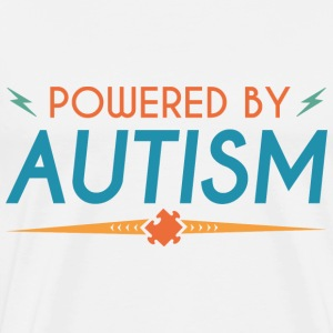 Powered By Autism - Men's Premium T-Shirt