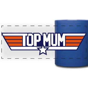 Top Mum mug - Full Color Panoramic Mug