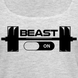 Beast Switch On workout shirt - Women's Premium Tank Top