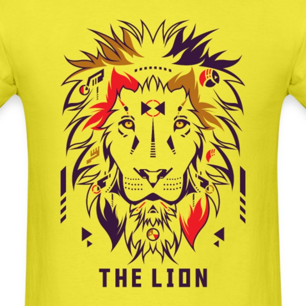 The Lion T-Shirts - Men's T-Shirt