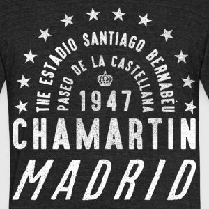 Football Ground Madrid T-Shirts - Unisex Tri-Blend T-Shirt by American Apparel
