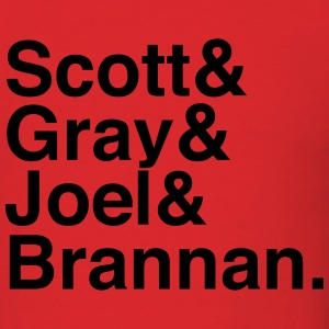 Technical Difficulties w/ Scott&Gray&Joel&Brannan - Men's T-Shirt