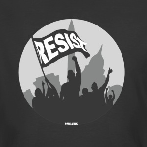 Resist Banner BW - Men's 50/50 T-Shirt