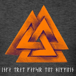 Vaknut/Proverb - Orange - Men's T-Shirt