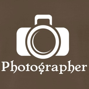 Photographer - Men's Premium T-Shirt