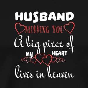 My Husband In Heaven T Shirt - Men's Premium T-Shirt