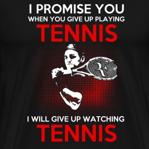 I'd Rather Be Playing Tennis T-Shirts - Men's Premium T-Shirt
