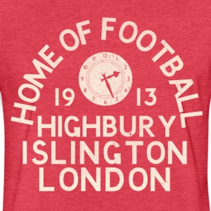 Football Ground London T-Shirts - Fitted Cotton/Poly T-Shirt by Next Level