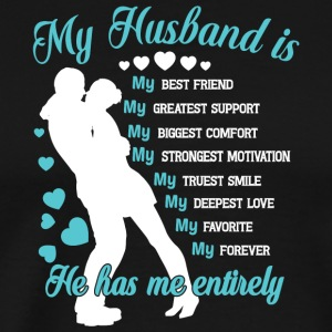 My Husband Is My Best Friend T Shirt - Men's Premium T-Shirt