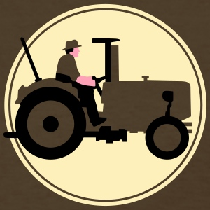 farmer_with_tractor_b_09_2016_3c03 T-Shirts - Women's T-Shirt