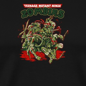 Teenage Mutant Ninja Zombies - Men's Premium T-Shirt